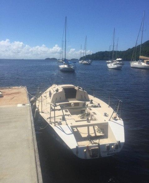 Old Racing Sailboat